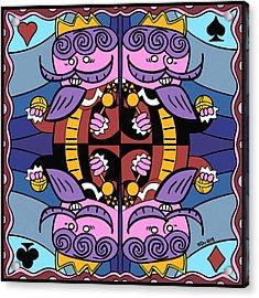 Four Kings Acrylic Print