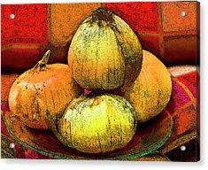 Four Onions  Acrylic Print