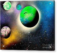 Four Planets 02 E Acrylic Print