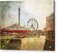 The Ferris Wheel Acrylic Print