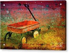 Four Ten To Red Acrylic Print