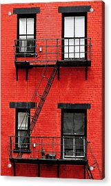 Four Windows Acrylic Print