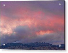 Fourmile Canyon Fire Image 90 Acrylic Print by James BO  Insogna