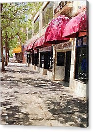 Fourth Avenue Acrylic Print by Donald S Hall