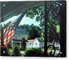 Fourth Of July Morning Acrylic Print by William  Brody
