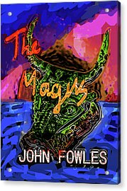 Fowles Magus Poster  Acrylic Print