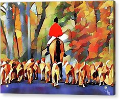 Fox Hunting 26 Acrylic Print