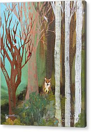 Fox In The Forest  Acrylic Print