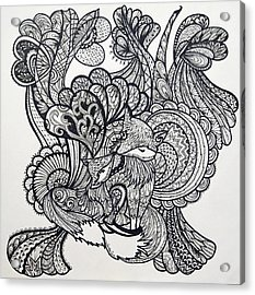 Fox Lover Acrylic Print