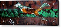 Fox Run Acrylic Print