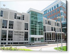Fox School Of Business And Management - Temple University Acrylic Print by Bill Cannon