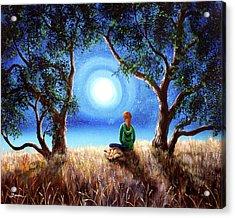 Fox Spirit Meditation Acrylic Print