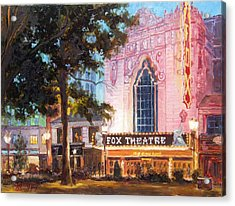 Fox Theatre In St.louis Acrylic Print