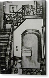 Foyer Architectural Rendering Acrylic Print