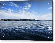 Foyle Ferry Crossing Acrylic Print