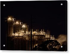 Acrylic Print featuring the photograph Fpl Natural Gas Power Plant  by Bradford Martin