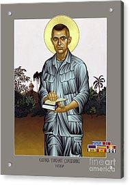Fr. Vincent Capodanno, The Grunt Padre - Lwvcd     Acrylic Print