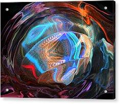 Fractal Ball Acrylic Print