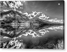 Fractal Reflections Acrylic Print by Don Mennig
