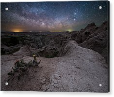 Acrylic Print featuring the photograph Fractured  by Aaron J Groen