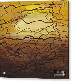 Fractured  Acrylic Print