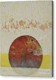 Fragile Conditioning- 4 Acrylic Print by Asma Hashmi