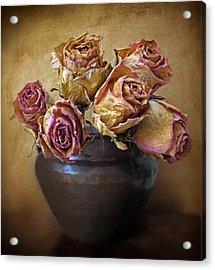 Fragile Rose Acrylic Print by Jessica Jenney