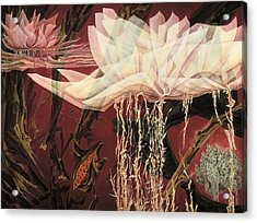 Fragility Acrylic Print by Charles Cater