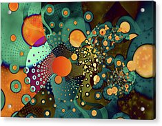 Fragmentation Acrylic Print by Frederic Durville
