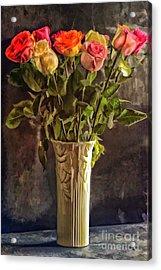 Fragrant Flowers Acrylic Print by Arnie Goldstein