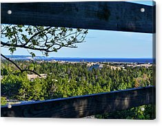 Framed View Acrylic Print