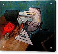 Framer's Tools Acrylic Print by Doug Strickland