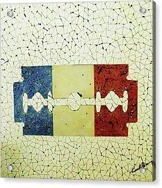 France Acrylic Print by Emil Bodourov
