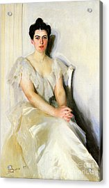 Frances Cleveland, First Lady Acrylic Print by Science Source