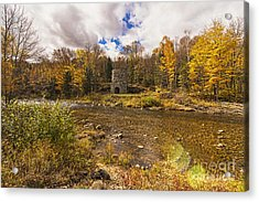 Acrylic Print featuring the photograph Franconia Iron Works by Anthony Baatz