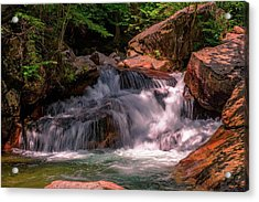 Franconia Notch 2 Acrylic Print by Sherman Perry
