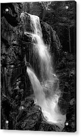 Franconia Notch Waterfall Acrylic Print