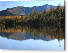 Franconia Ridge From Lonesome Lake Acrylic Print