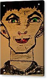 Frank En-stain Acrylic Print