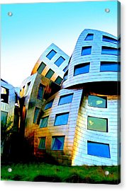 Frank Gehry 3 Acrylic Print by Randall Weidner
