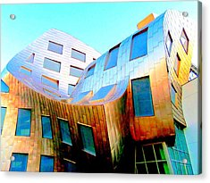 Frank Gehry 9 Acrylic Print by Randall Weidner