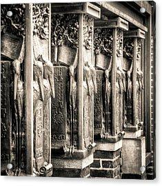 Frank Lloyd Wright No.1 Acrylic Print by Niels Nielsen