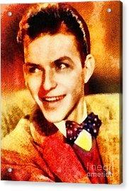 Frank Sinatra, Hollywood Legend By John Springfield Acrylic Print
