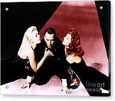Frank Sinatra Publicity Photo For The Film Pal Joey. Acrylic Print by The Titanic Project