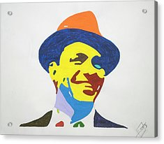 Frank Sinatra Smile Acrylic Print