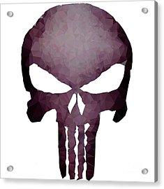 Frank Skull Acrylic Print
