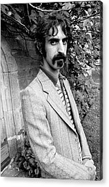 Frank Zappa 1970 Acrylic Print