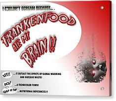 Acrylic Print featuring the photograph Frankenfood by Christopher Woods