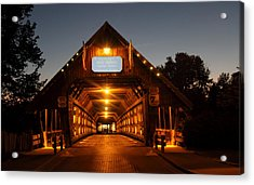 Frankenmuth Covered Bridge Acrylic Print