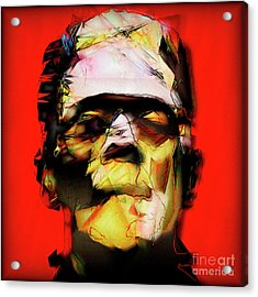 Acrylic Print featuring the photograph Frankenstein 20170325 V3 Square by Wingsdomain Art and Photography